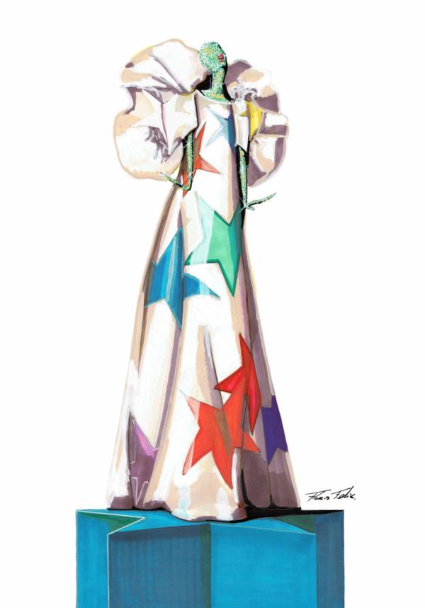 Schiaparelli Ster Kimono