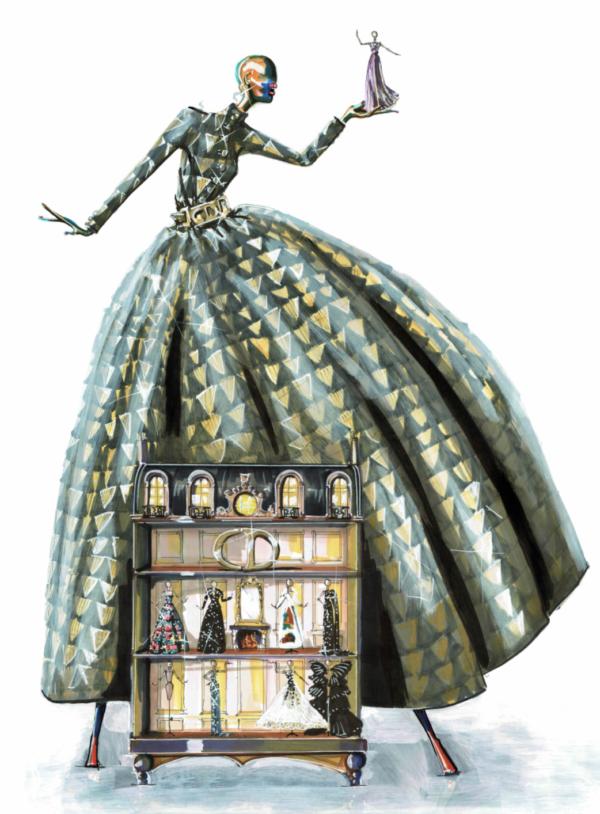 Christian Dior Doll