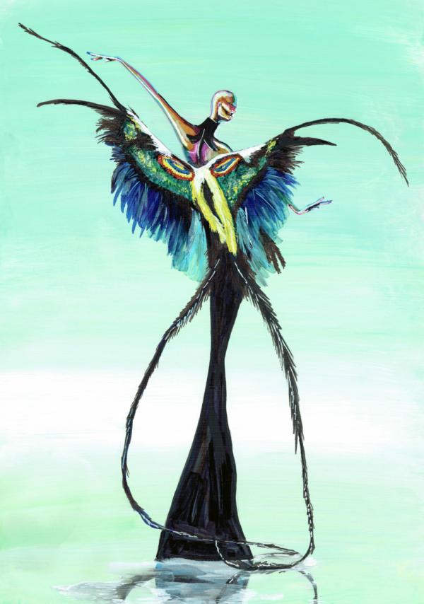Mugler Bird